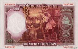 500 Pesetas ESPAGNE  1931 P.084 pr.NEUF