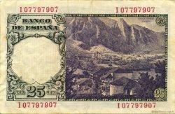 25 Pesetas ESPAGNE  1946 P.130a TTB+