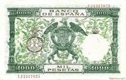1000 Pesetas ESPAGNE  1957 P.149a pr.SUP