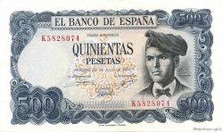 500 Pesetas ESPAGNE  1971 P.153a SUP
