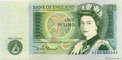 1 Pound ANGLETERRE  1981 P.377b NEUF