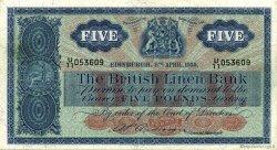 5 Pounds ÉCOSSE  1959 P.161b TTB+