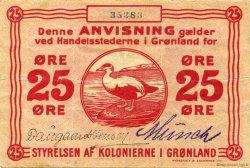 25 Ore GROENLAND  1913 P.11 TTB