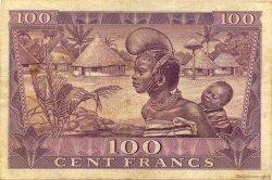 100 Francs GUINÉE  1958 P.07 TTB