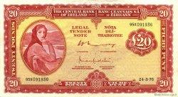 20 Pounds IRLANDE  1976 P.067c TTB à SUP