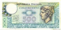 500 Lire ITALIE  1974 P.094 SUP+