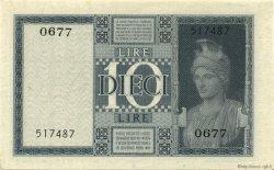 10 Lire ITALIE  1944 P.025c NEUF