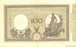 100 Lire ITALIE  1922 P.039f TTB+