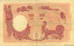 500 Lire ITALIE  1946 P.070d TB