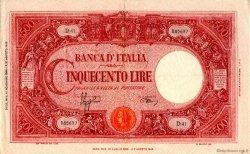500 Lire ITALIE  1944 P.070c SUP