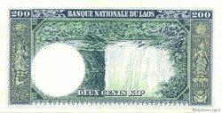 200 Kip LAOS  1963 P.13b NEUF