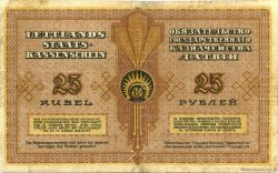 25 Rubli LETTONIE  1919 P.05h TB+