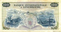 100 Francs LUXEMBOURG  1968 P.14a TTB
