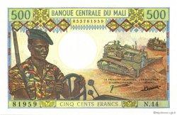 500 Francs MALI  1973 P.12d NEUF