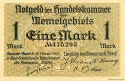 1 Mark MEMEL  1922 P.02 SPL+