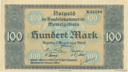 100 Mark MEMEL  1922 P.09 pr.SPL