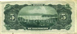 5 Pesos MEXIQUE  1914 PS.0298c SUP