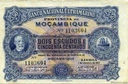 2,5 Escudos MOZAMBIQUE  1921 P.067b TTB+