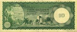 10 Gulden ANTILLES NÉERLANDAISES  1962 P.02a TTB