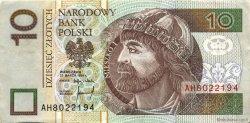 10 Zlotych POLOGNE  1994 P.173a TTB+