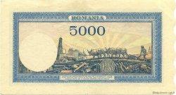 5000 Lei ROUMANIE  1945 P.056a TTB+