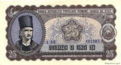 25 Lei ROUMANIE  1952 P.089b SPL
