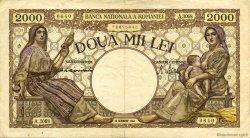 2000 Lei ROUMANIE  1944 P.053a TTB
