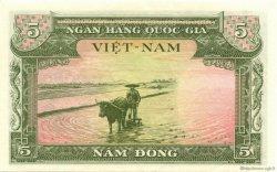 5 Dong VIET NAM SUD  1955 P.002a SUP+