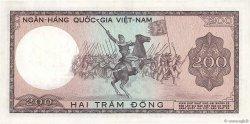 200 Dong VIET NAM SUD  1966 P.20a TTB