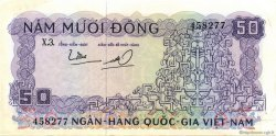 50 Dong VIET NAM SUD  1966 P.17a SUP