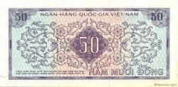 50 Dong VIET NAM SUD  1966 P.17a SUP