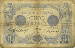 5 Francs BLEU FRANCE  1915 F.02.26 B