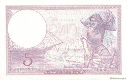 5 Francs VIOLET modifié FRANCE  1939 F.04.07 NEUF