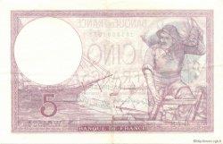5 Francs VIOLET modifié FRANCE  1939 F.04.12 SUP+