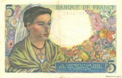 5 Francs BERGER FRANCE  1943 F.05.02 SUP+