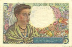 5 Francs BERGER FRANCE  1945 F.05.06 pr.SUP