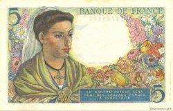 5 Francs BERGER FRANCE  1943 F.05.01 SPL+