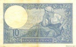 10 Francs MINERVE FRANCE  1926 F.06.11 SUP