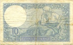 10 Francs MINERVE modifié FRANCE  1939 F.07.01 TB+
