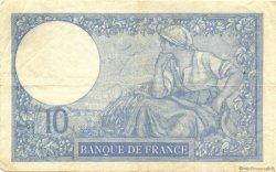 10 Francs MINERVE modifié FRANCE  1940 F.07.18 TTB