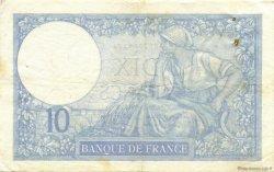 10 Francs MINERVE modifié FRANCE  1940 F.07.25 TTB