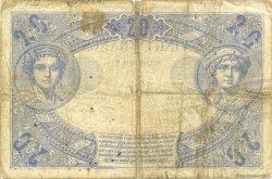 20 Francs NOIR FRANCE  1874 F.09.01 B à TB
