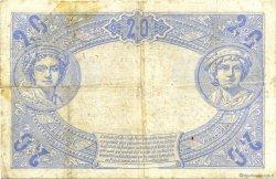 20 Francs BLEU FRANCE  1906 F.10.01 B+