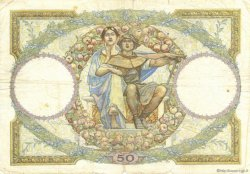 50 Francs LUC OLIVIER MERSON type modifié FRANCE  1930 F.16.01 B+