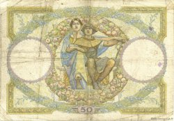 50 Francs LUC OLIVIER MERSON type modifié FRANCE  1931 F.16.02 B+