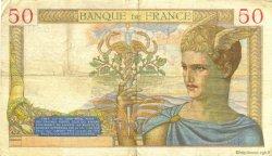 50 Francs CÉRÈS FRANCE  1935 F.17.14 TTB