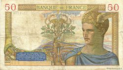 50 Francs CÉRÈS modifié FRANCE  1940 F.18.38 pr.TTB