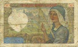 50 Francs JACQUES CŒUR FRANCE  1940 F.19.01 TB
