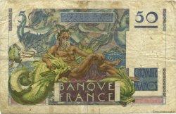 50 Francs LE VERRIER FRANCE  1946 F.20.01 B à TB