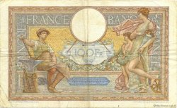 100 Francs LUC OLIVIER MERSON grands cartouches FRANCE  1937 F.24.16 pr.TB